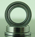 "1/4 x 3/8 x 1/8"" FLANGED Metal Shielded Ceramic Bearing  FR168CZZ"