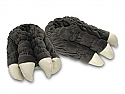 Godzilla Feet Plush Slipper Set by Toy Vault TOY09131