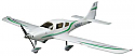 Hobbico Select Scale RTF Cessna Corvalis Brushless R/C Airplane HCAA2533 2.4Ghz