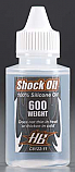 Hot Bodies 600 Weight 100% Silicone Shock Oil  HBSC8122-11 HBSC812211