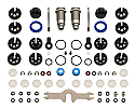 Team Associated V2 Front Shock Kit 12x23B/21S/RC10B5/B5M  ASC91496