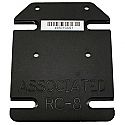 Associated RC8 1/8th Scale Brushless Motor Conversion Motor Plate by Novak NOV5060