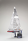 Kyosho Fortune 612 III America's Cup Ready To Run Radio Controlled Sailboat w/2.4Ghz Radio KYO40042B