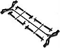 Tekno RC 1/10 Scale Body Mount Set, Front/Rear/SCT 410  TKR5791