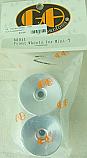 GH Racing Aluminum Front Wheels/Losi Mini-T  GHH88911