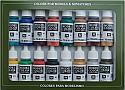Vallejo Model Color Set: Medieval Colors (16)  VAL70142