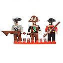 Bric Tec Pirates Building Block Figures (3pcs) BIC19312