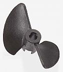 """Atomik RC Barbwire R/C Boat Propeller (30mm Diameter, 1/8"""" Bore) ATK18072"""
