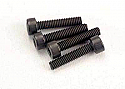 Traxxas Cap Head Machine Screws 2.5x12mm (4)