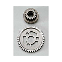Robinson Racing 1/10th Scale Extra Hard 18T Bell/44T Spur Gear/TMaxx 3.3 RRP8644