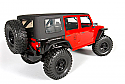 Axial Racing 2012 Jeep Wrangler Rubicon Unlimited Roof, Clear/SCX10 AXIAX04034