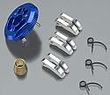 HPI Racing Nitro Firestorm Blue Aluminum 3-Piece Clutch Conversion