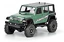 "Jeep Wrangler Unlimited Rubicon Clear Body 12.3"" WB Rock Crawler"