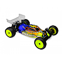 "JConcepts 1/10th Scale Silencer AE RC10B5 Clear Body with 6.5"" Wing  JCO0272"