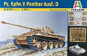 1/35 German Pz.Kpfw V Pantther Ausf.D Tank Model Kit