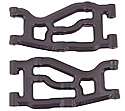 Axial Racing EXO Terra Buggy Black Front Suspension A-Arms by RPM RPM70472