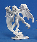 Dark Heaven Bones Harpy Unpainted Miniature by Reaper  RPR77049