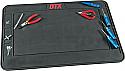 "Duratrax Pit Mat 29 x 19"" Black  DTXP2050"