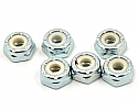 Team Associated 1/10th Scale Low Profile Steel Locknuts 8-32 (6)  ASC6953