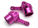 Hot Bodies Lightning Series Purple Alloy Steering Arms (Left & Right) HBSC8081-1