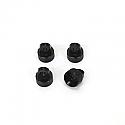 ST Racing 1/10 Scale CNC Machined Alum Shock Caps Black (4)/Wraith/Yeti/Bomber  STRSTA80035BK