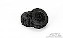 Pro-Line Gladiator M2 Short Course Truck Tires w/Renegade Wheels - Traxxas Slash PRO116913