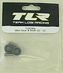 Team Losi Racing 22 Idler Gear & Shaft
