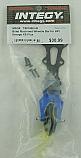 HPI Savage XS Flux Blue Blillet Machied Wheelie Bar INTT5013BLUE Wheely Willie