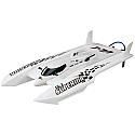Aquacraft UL-1 Superior R/C Brushless Hydroplane Race Boat (White Hull) AQUB28WW