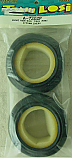 Team Losi Front Buggy Wide Body Rib Tires w/Inserts, Pink (2) LOSA7202P