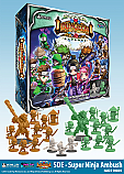 Super Dungeon Explore Super Ninja Ambush Deluxe Crossover Warband Expansion NJD210801
