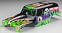 Traxxas Stampede/Monster Jam Grave Digger 1/10th Scale Factory Painted/Trimmed Truck Body TRA3680