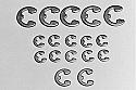 Tamiya 2mm/3mm/4mm E-Clip Set (23)