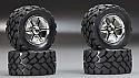 HPI Racing 1/18 Mini Recon Mounted VT Tire/Wheel Set (4)