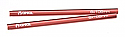 Axial Scorpion Red Aluminum Threaded Pipe 6x106mm (2pcs.)