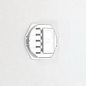 Axial Racing Wraith Silver CNC Aluminum HD Diff Cover