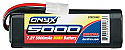 DuraTrax NiMH 7.2V 5000mAh Onyx Stick Battery Pack w/Standard Plug