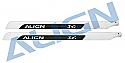 Align 690 3G Carbon Fiber Blade Set (2) (Flybarless) T-Rex 700