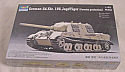 1/72nd Scale German Sd.Kfz. 186 JagdTiger Tank Model Kit