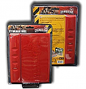 Zombicide: Storage Box - Red by Guillotine Games  COLGUG0052
