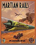 Martian Rails - A Board game of Epic Railroading on Mars by Mayfair Games MFG4601