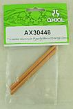 Axial Scorpion Orange Aluminum Threaded Pipe 6x98mm (2pcs.)