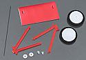 Flyzone Landing Gear Set w/Sub Wing/Micro Fokker DR.1  FLZA6117