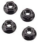 Arrma Serrated Flange Wheel Nuts 4mm (4)  ARAAR708003