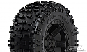 "Pro-Line Racing 1/10 Badlands 2.8"" All Terrain Rear Tires Mounted  PRO117313"