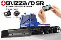 Kyosho Blizzard SR Wireless LAN RTR 1/12th Snow Cat w/Plow & On-board Camera KYP30987