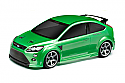 HPI Racing Ford Focus RS Touring Car CLEAR Body 200mm