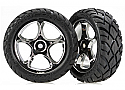 """Traxxas Bandit Front Mounted Anaconda 2.2"""" Tires on Tracer Wheels"""