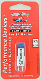 JR 36Mhz Channel 609 (36.090) FM Receiver Crystal by Performance Devices
