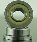 "1/8 x 1/4"" FLANGED PolyAmide Sealed Bearing  FR144LL"